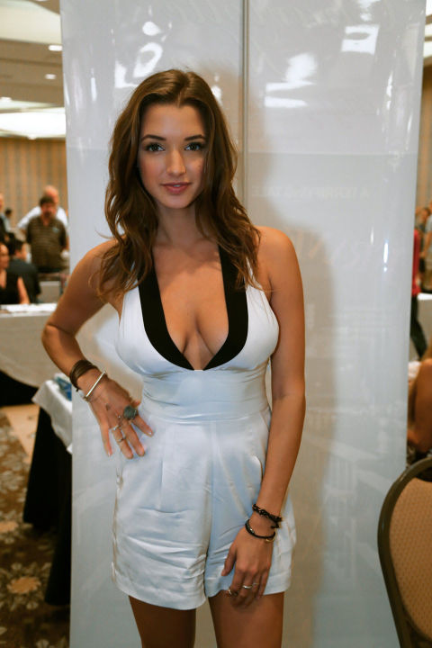 Alyssa Arce at Glamourcon August, 2014 in Long Beach, CA